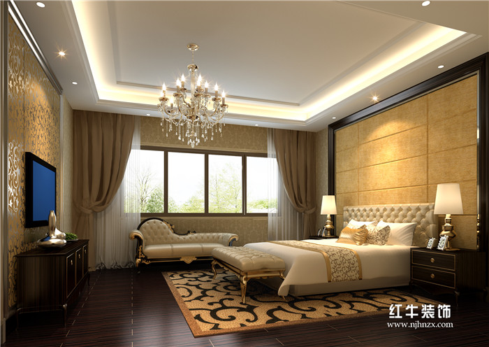 新古典卧室装修效果图