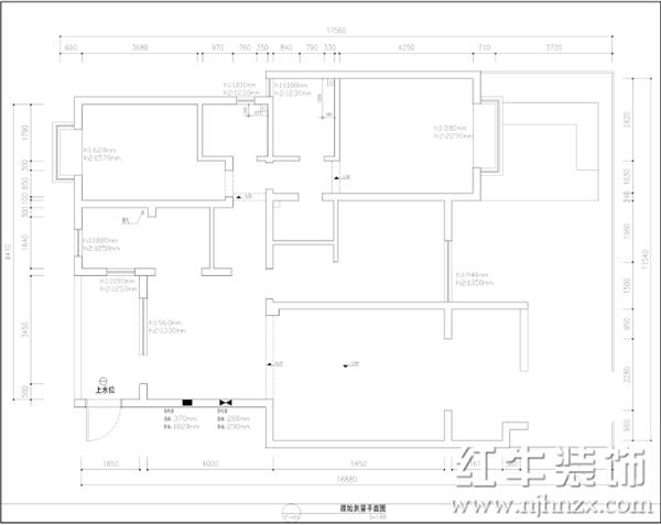 三室二厅装修效果图一一生活品质在设计中得以实现
