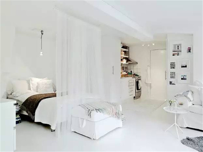 客厅打隔断做卧室好吗?这几种隔断方式被收藏疯了