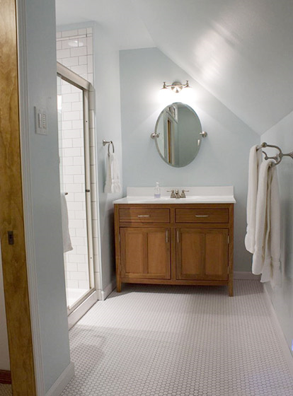 阁楼如何改造卫生间?10种阁楼卫生间设计你肯定没见过