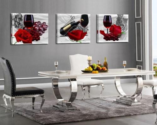 餐厅挂什么样的装饰画好?五种款式样样精品