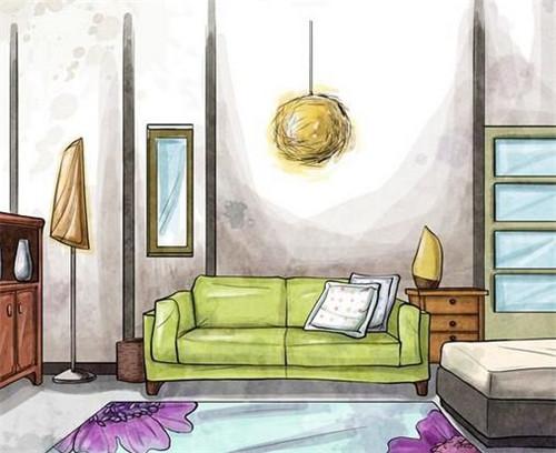 室内陈设设计的作用及注意事项图片