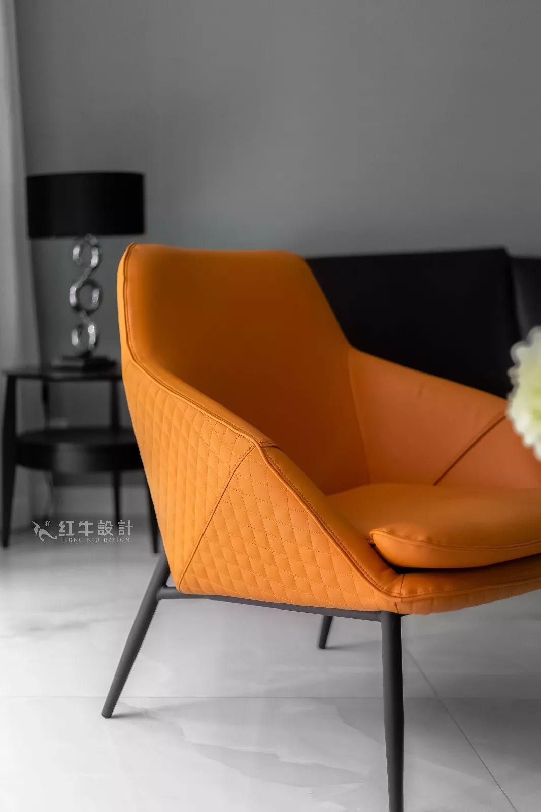 南京雅居乐145㎡现代简约--演绎当代生活美学04客厅设计03小饰品