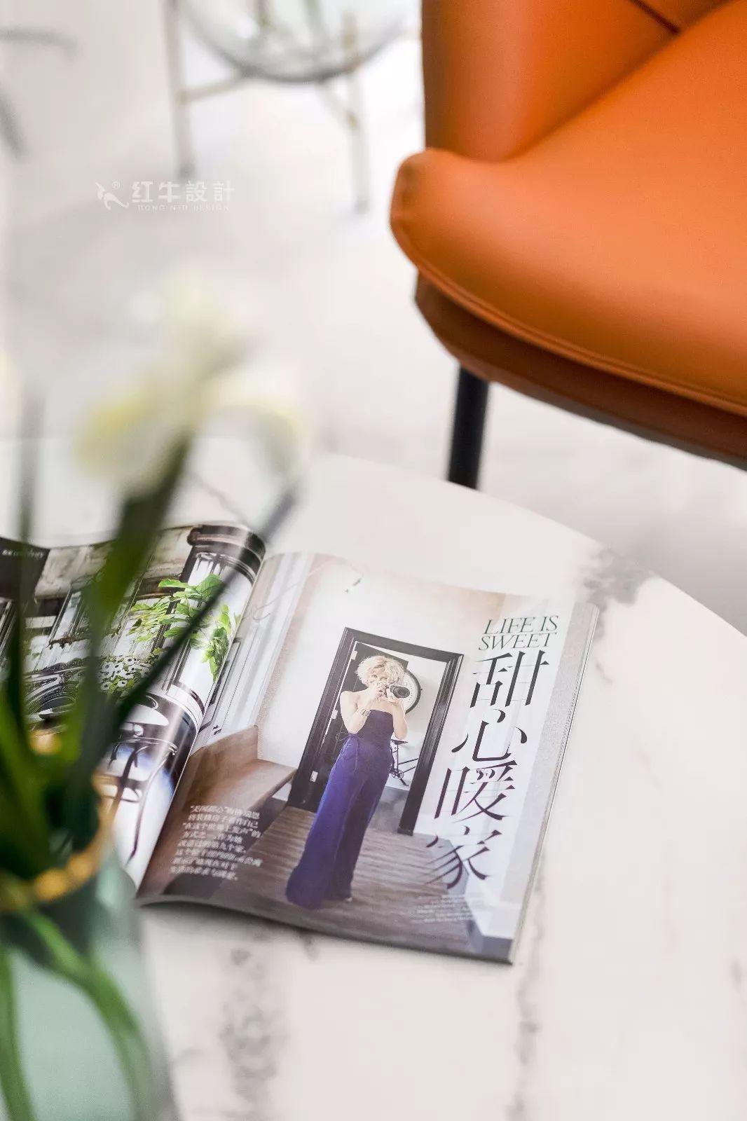 南京雅居乐145㎡现代简约--演绎当代生活美学06客厅设计05小饰品