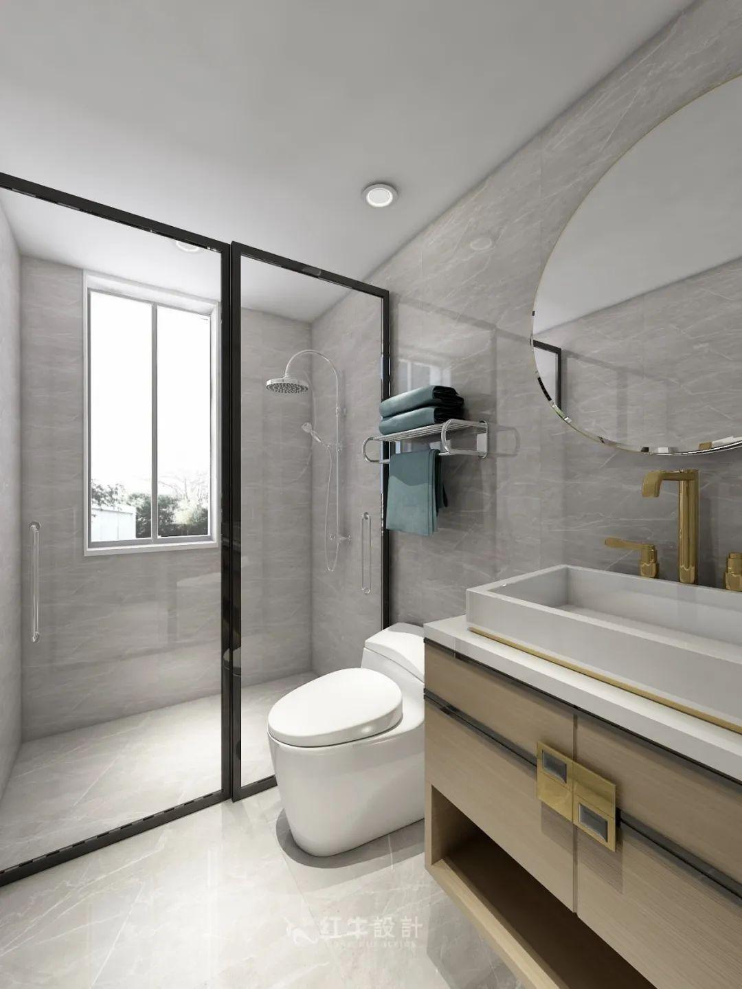 熊皓宇_同曦国际广场140㎡轻奢风格--改善性住房应该这样设计10主卧设计