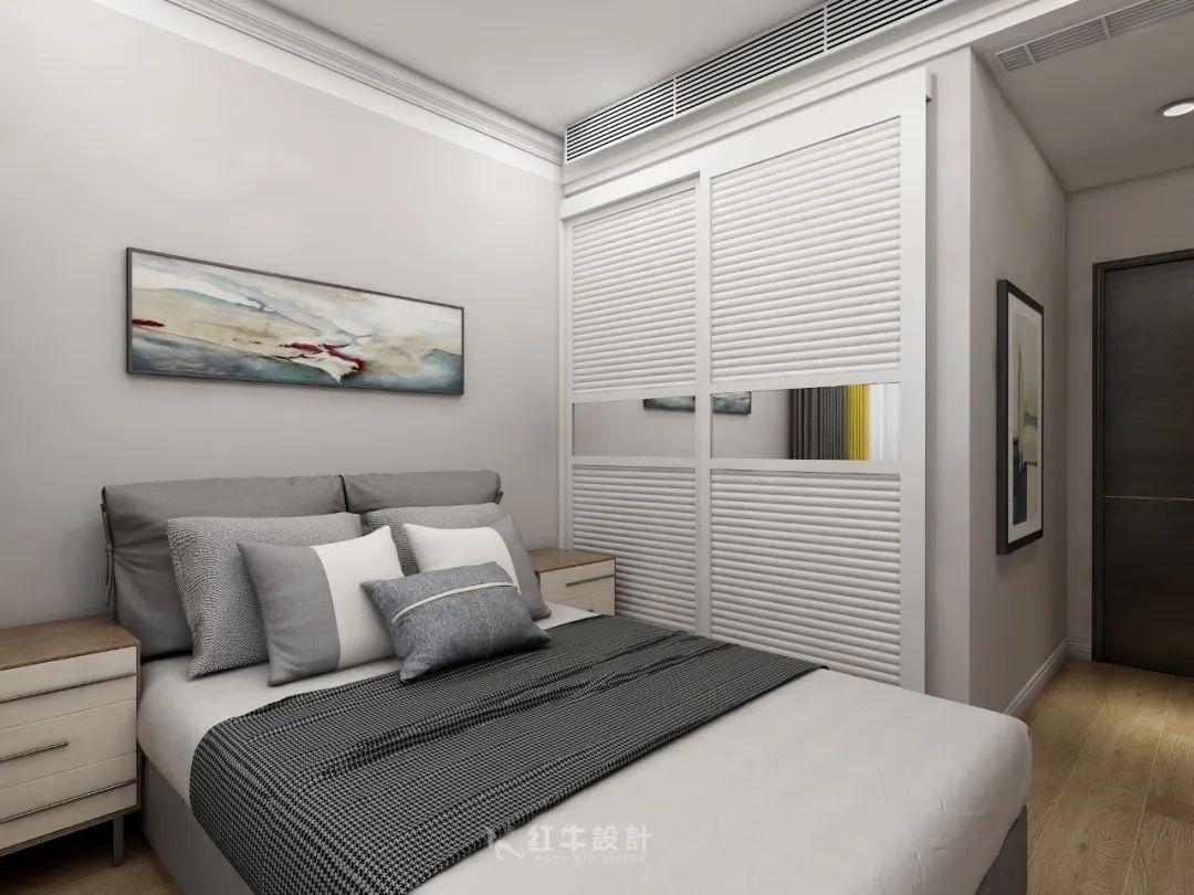 熊皓宇_同曦国际广场140㎡轻奢风格--改善性住房应该这样设计11客卧设计