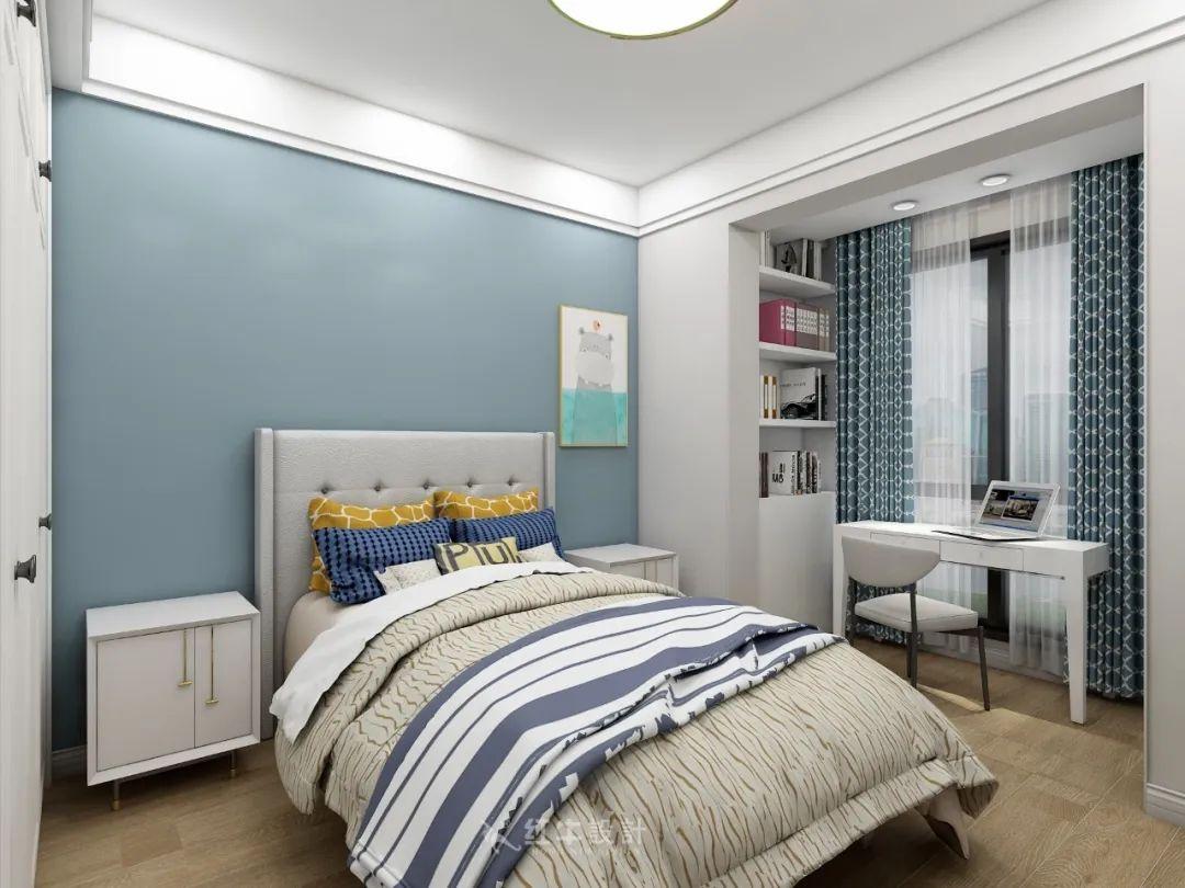 熊皓宇_同曦国际广场140㎡轻奢风格--改善性住房应该这样设计12儿童房设计