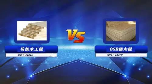 竞技宝dota2材料PK赛:传统木工板vs OSB精木板