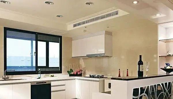 """""""炒菜五分钟,流汗两小时"""",为什么不给厨房装个空调呢?"""