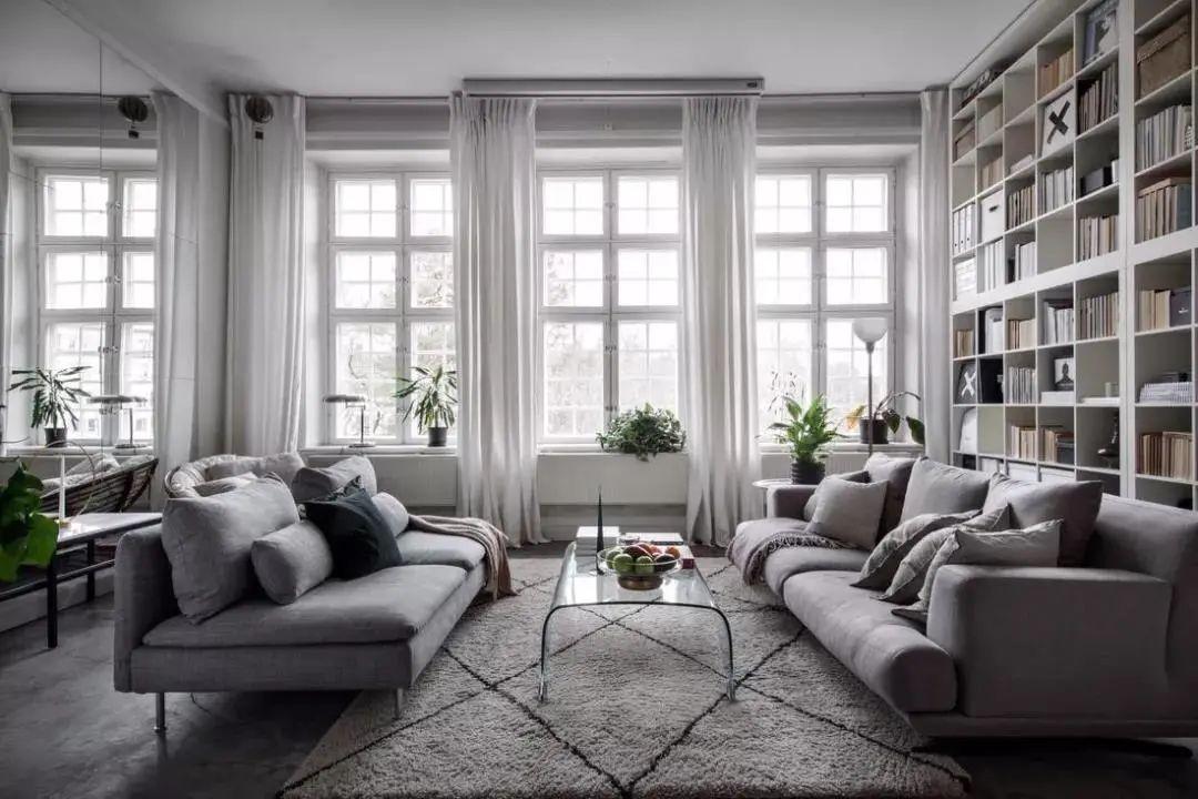客厅除了看电视还能干啥?看看别人家是怎么设计的!